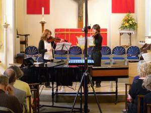 Eleanor and Jacob play Baroque
