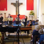 James, Connor, Olli, Anna, Lawrence, Jacob and Steve play Baroque