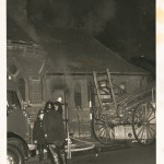 Boxing Day 1964 fire (photo Bill Barby)